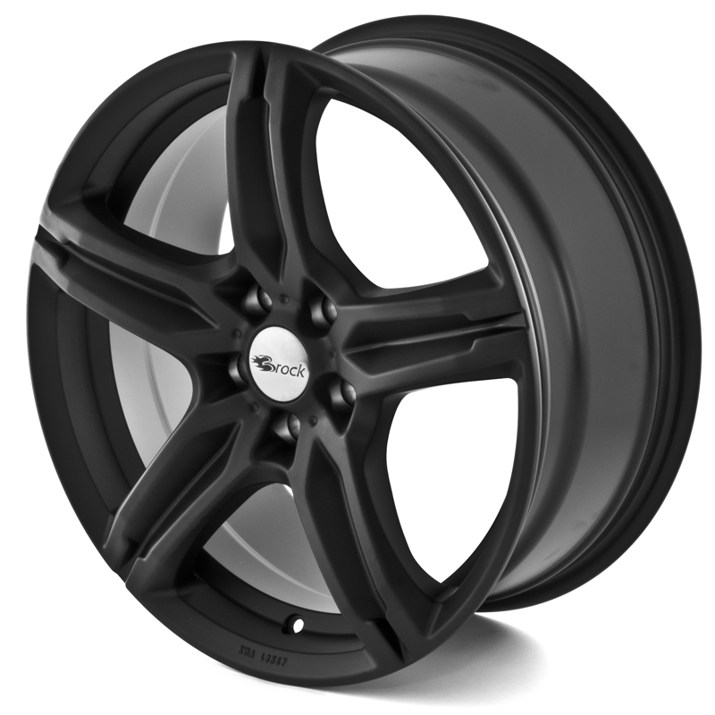 Brock B29 SKM Matt Black 17x7,5 5/100 ET38 N63,4
