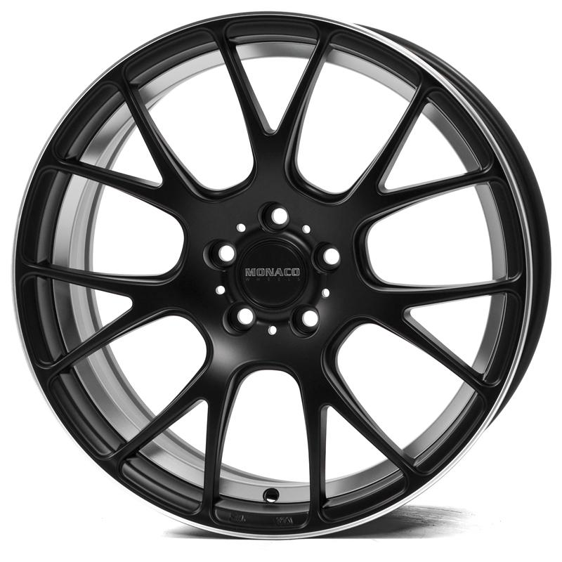 Monaco Mirabeau Black-2 19x8,5 5/120 ET20 N74,1