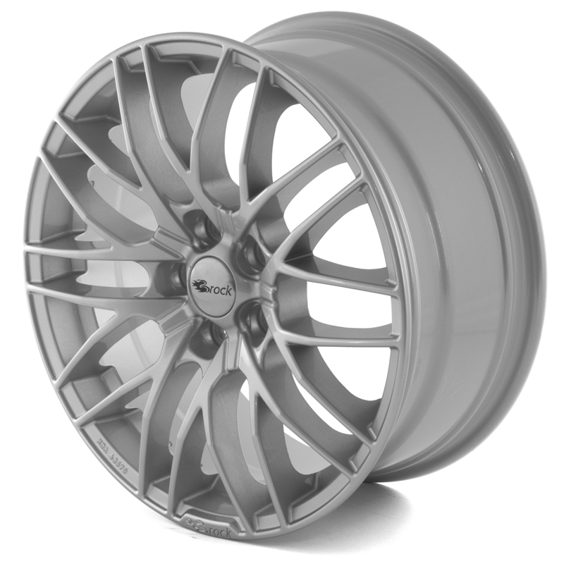 Brock B30 Silver 18x8,0 5/100 ET38 N63,4