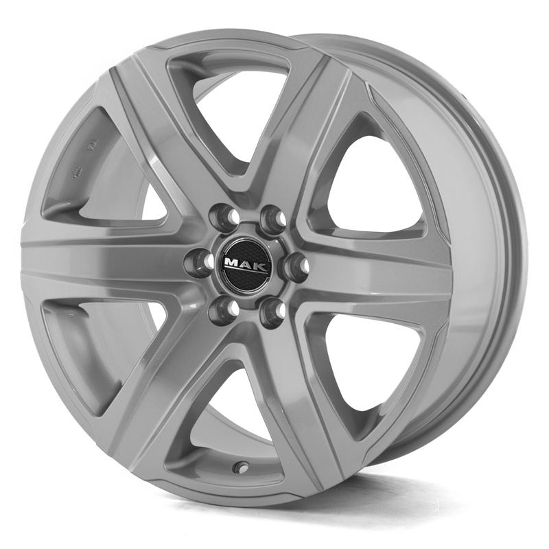 Mak Stone6 Silver 17x8,0 6/139,7 ET20 N106,1