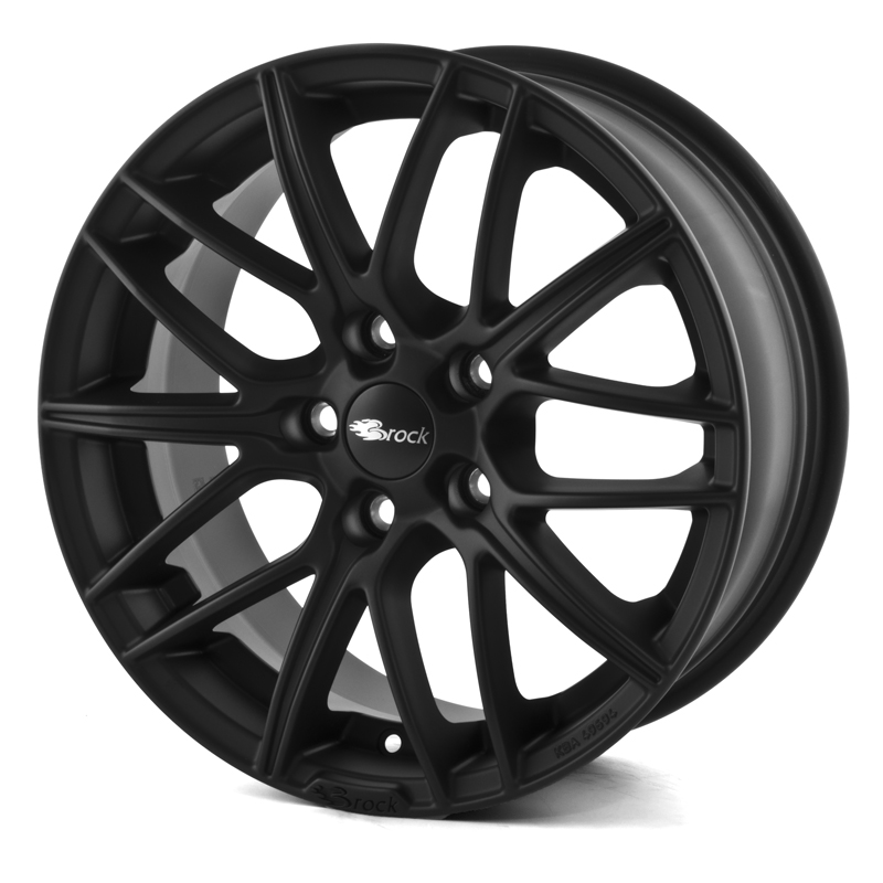 Brock B34 SKM Matt Black 19x8,5 5/105 ET38 N56,6
