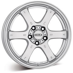 Dotz Crunch Silver 16x8,0 6/114,3 ET30 N66,1