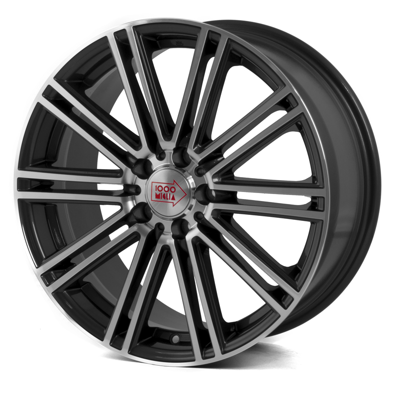 Mille Miglia 1005 Antracite Dark/ Polished 20×8,5 5/112 ET45 N72,2