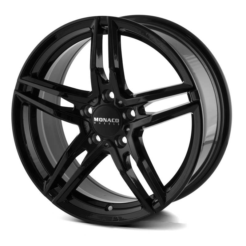 Monaco Grand Prix Black 17x7,5 5/108 ET45 N63,4