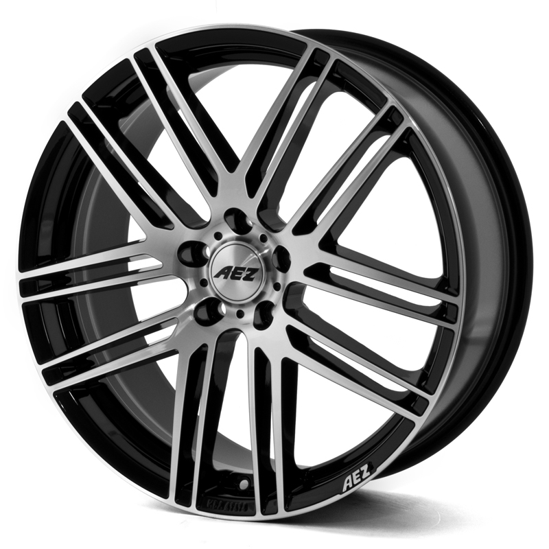 AEZ Cliff Dark (Black Polished) 17x8,0 5/112 ET45 N70,1