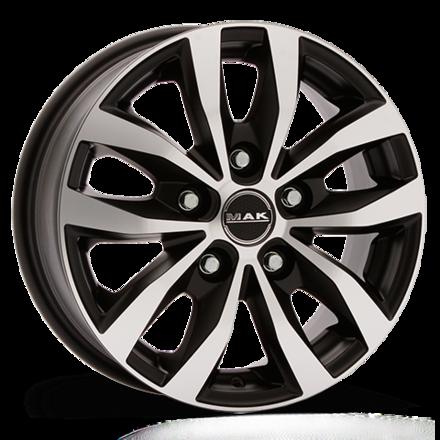 Mak Load5 Black/Polished 15x6,5 5/160 ET58 N65,1