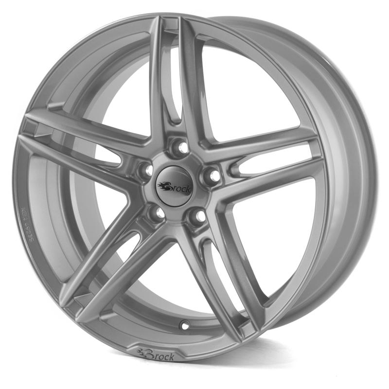Brock B33 Silver 17x8,0 5/115 ET40 N70,2