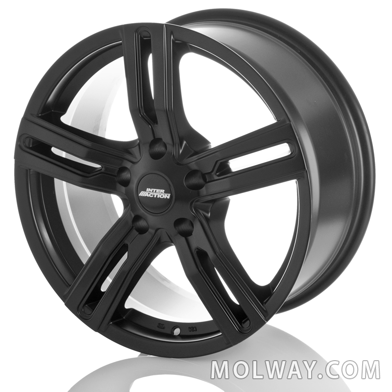 Inter Action Kargin Black 17x7,5 5/130 ET45 N89,1