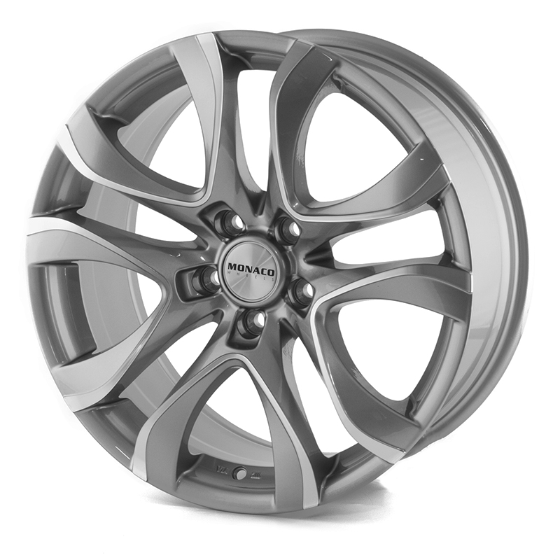 Monaco Beau Rivage Grey/Polished 18x8,0 5/112 ET42 N73,1