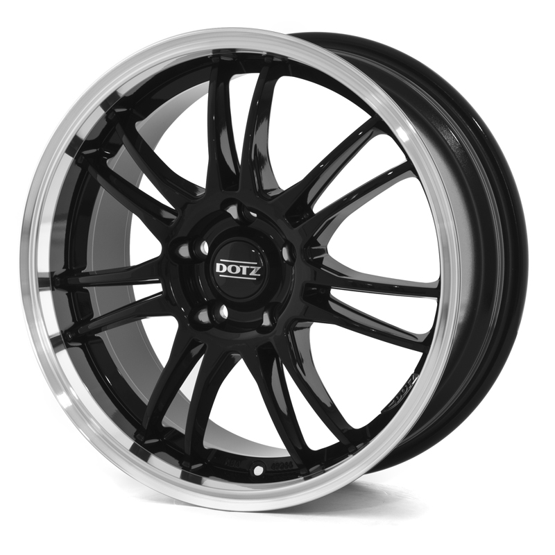 Köp Dotz Shift Dark (Black Polished) 15x6,5 5/112 ET48 N70,1 Billigt Online