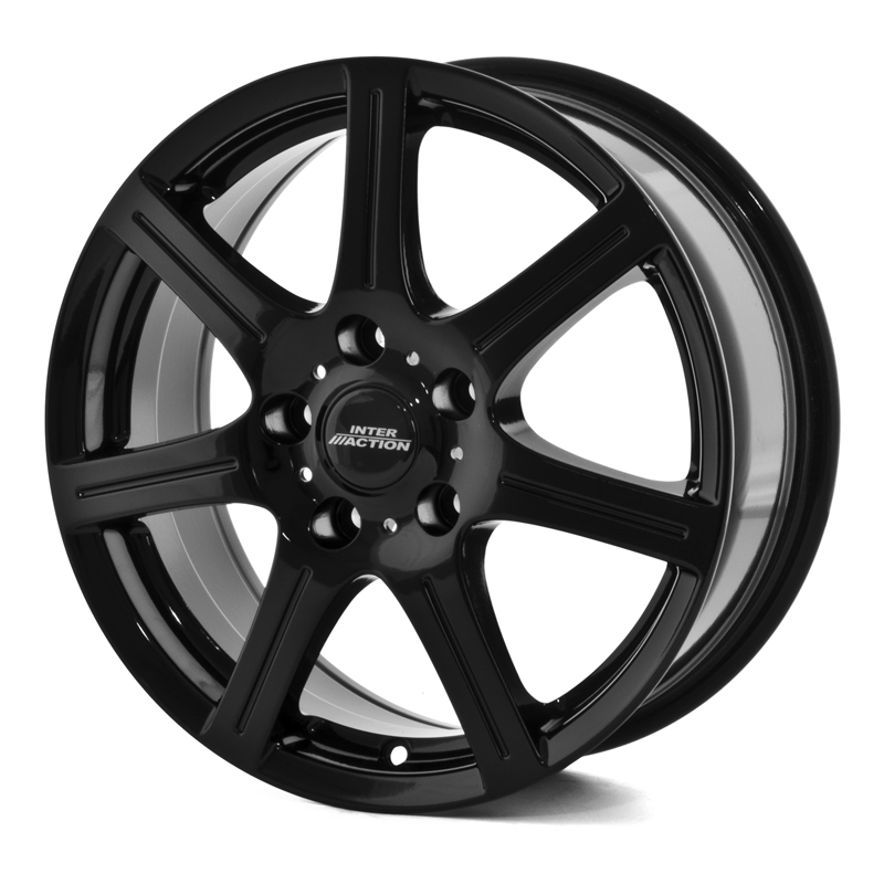 Inter Action Sirius Gloss Black 15×6,0 4/114.3 ET42 N73,1