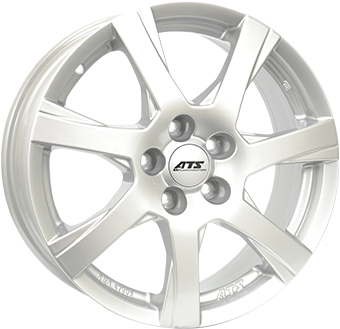 ATS Twister Silver 16x6,5 4/108 ET42 N63,3