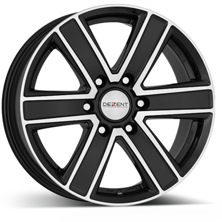 Dezent TJ dark/polished 16x8,0 6/139,7 ET20 N106,1