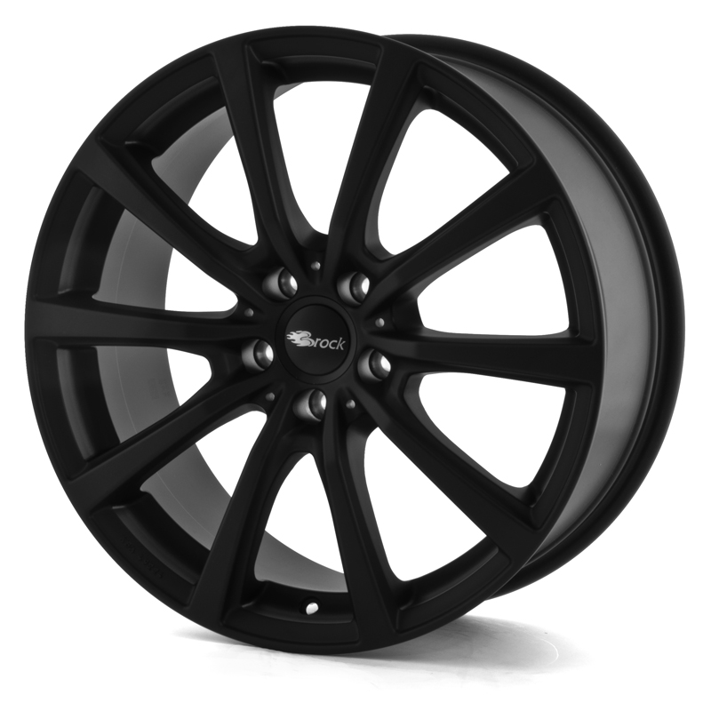 Brock B32 SKM Matt Black 22x10,0 5/108 ET35 N63.4