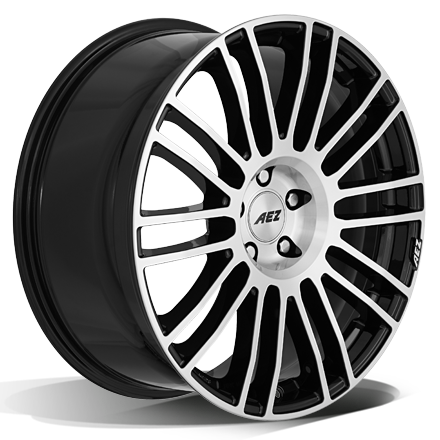 AEZ Strike (Black Polished) 19x8,5 5/127 ET40 N71,6