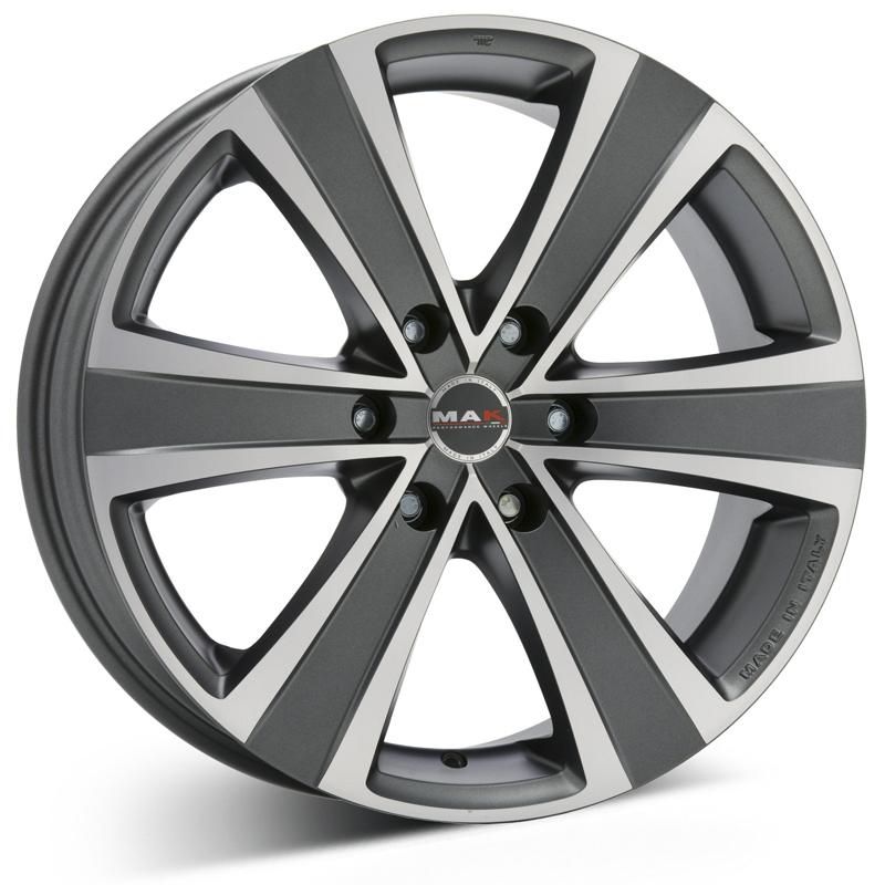 MAK Fuoco 6 Grey 16x6,5 6/130 ET50 N84,1