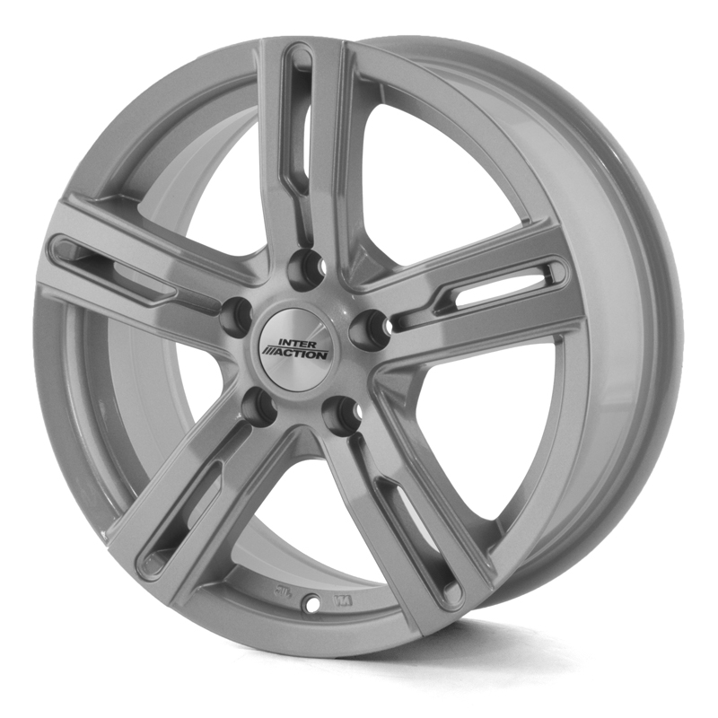 Inter Action Kargin Silver 16x6,5 5/127 ET40 N71,6
