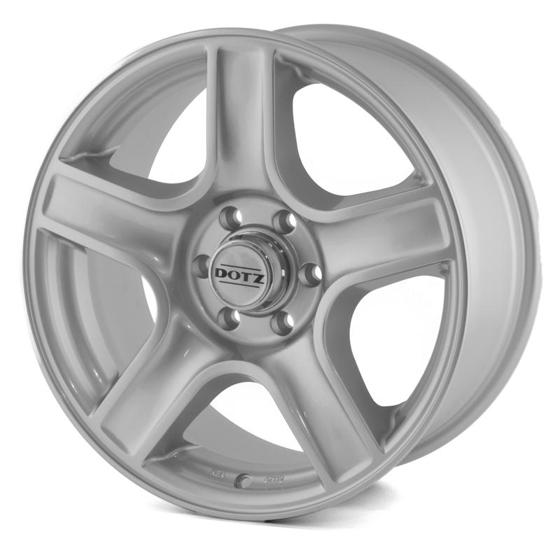 Dotz Hammada Silver 17x8,0 6/114,3 ET30 N66,1