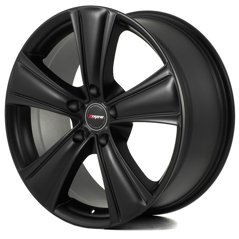 Extreme X90 Black 22x10,0 5/130 ET50 N71,6