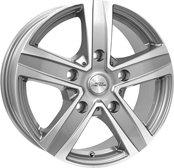 Inter Action VN5 Antracite/Polished 17x7,0 5/160 ET55 N65,1